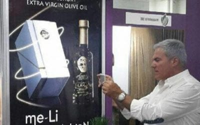"Dimokratia Newspaper: ""24 carat Olive Oil"""