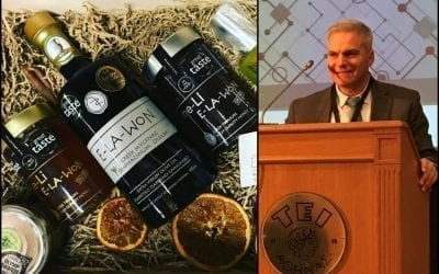 "itspossible.gr: ""The Greek brand E-LA-WON was at the Scientific Conference on 'Smart Packaging & Marketing'"""