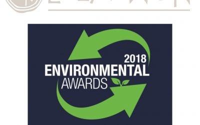 newsbomb.gr: 'E-LA-WON: «Gold βραβείο στα Environmental Awards 2018»'